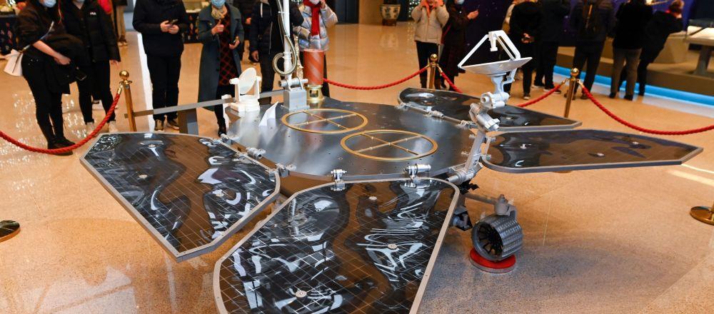 天问一号火星探测器模型