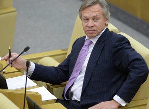 俄罗斯杜马国际事务委员会主席普什科夫