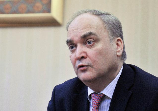 俄联邦国防部副部长安东诺夫