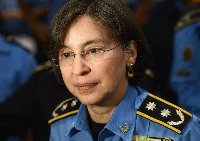 尼加拉瓜警察局长官阿敏特•格拉涅拉