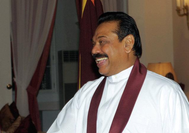 斯里兰卡总统拉贾帕克萨