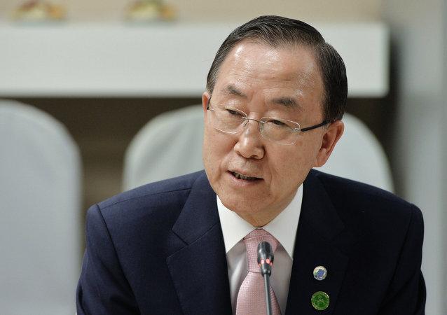 潘基文承诺联合国将制定计划预防极端主义出现