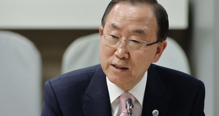 聯合國確認潘基文將於5月9日訪問莫斯科
