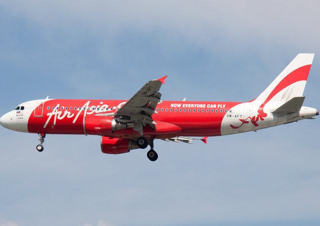 亚航公司的飞机