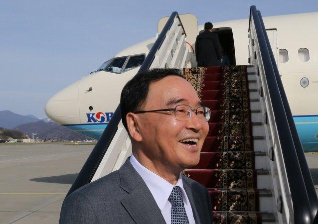 韩国总理郑烘原