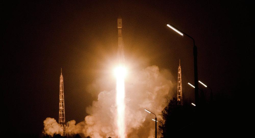 使用联盟-2.1B发射至太空的格洛纳斯Glonass-M卫星进入预定轨道
