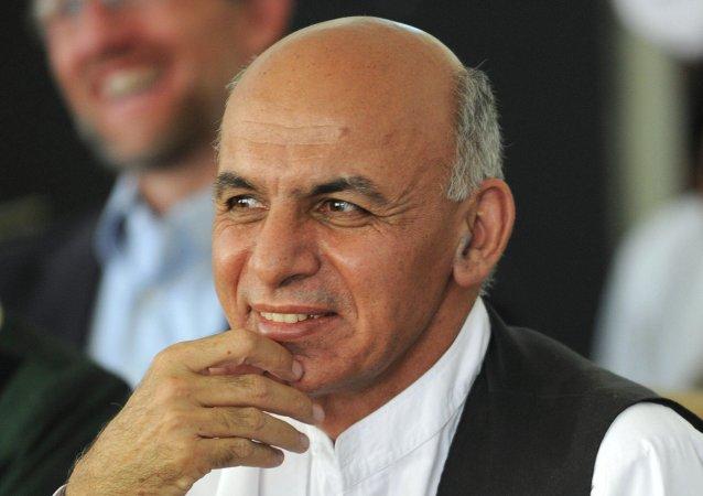 阿富汗总统阿什拉夫·加尼·艾哈迈德扎伊