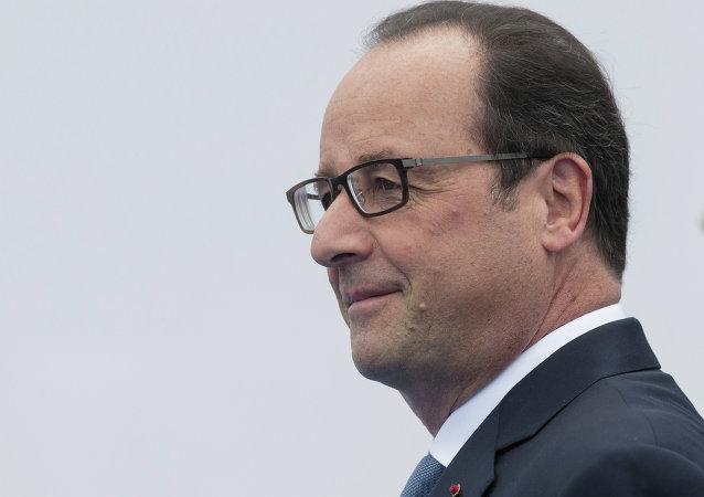 中国外交部:法国总统奥朗德将于下周访华
