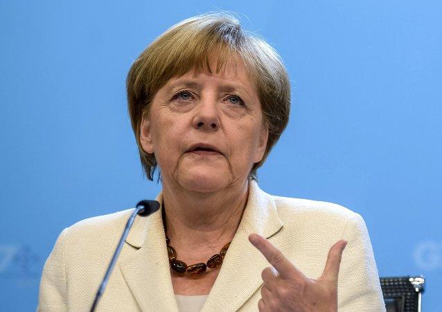 德国总理默克尔当选《时代》周刊年度风云人物