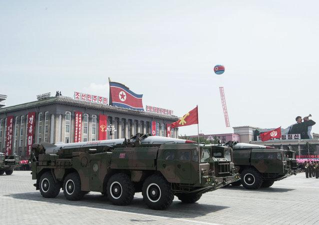 朝鲜要求美国放弃与韩国举行联合军演并威胁使用现代武器予以回应