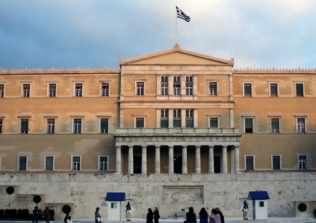 媒体:希腊议会或在恐怖分子目标之列