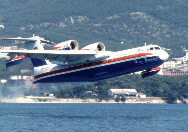 俄罗斯紧急情况部别-200水陆两栖飞机