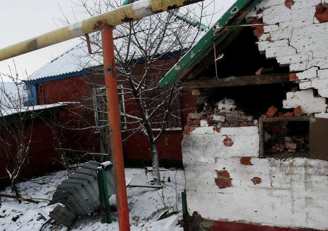 顿涅茨克遭炮轰事件