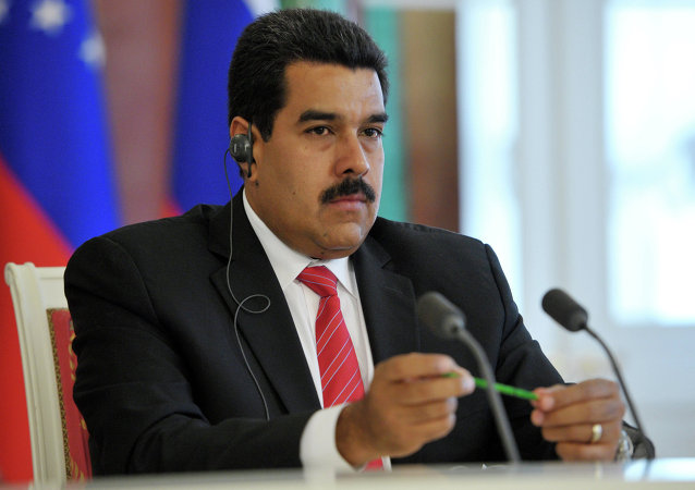 委内瑞拉总统尼古拉斯•马杜罗