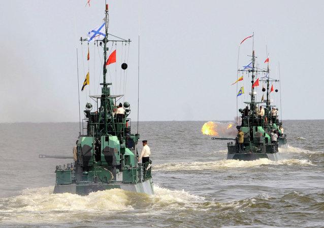 俄里海区舰队军舰