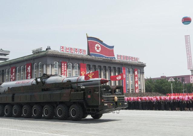媒体:朝鲜回应韩美军演承诺加强核实力