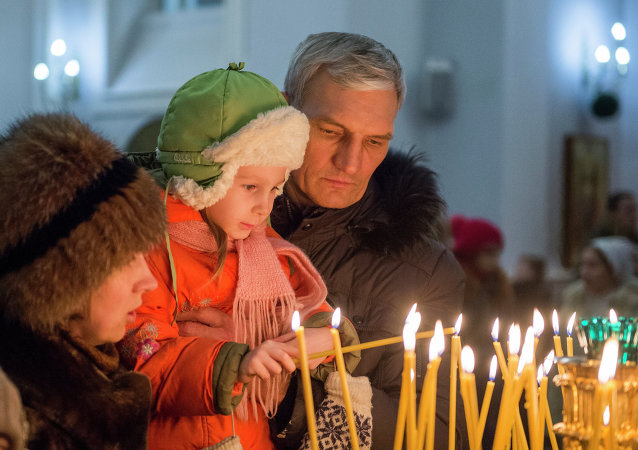 中国东正教徒迎接圣诞节