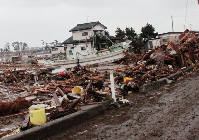 在亚太地区近45年的自然灾害已造成200万人死亡