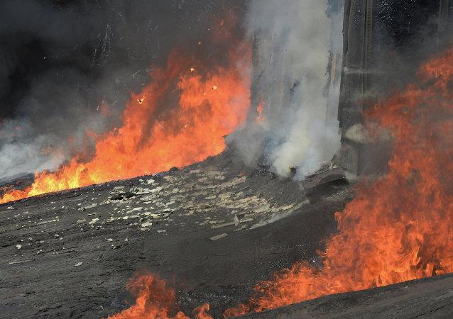 媒体:巴基斯坦酒店火灾受伤人数上升至70人
