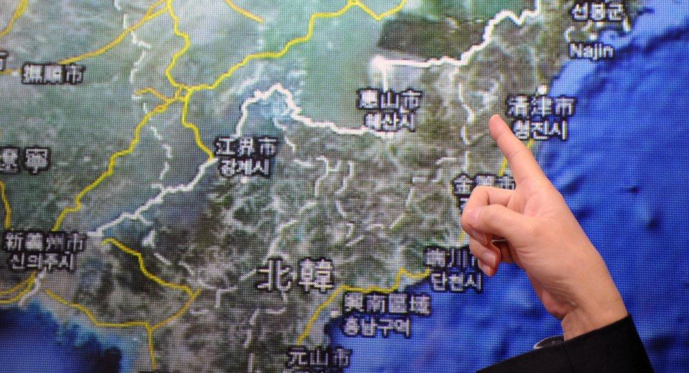 朝鲜核试验地区