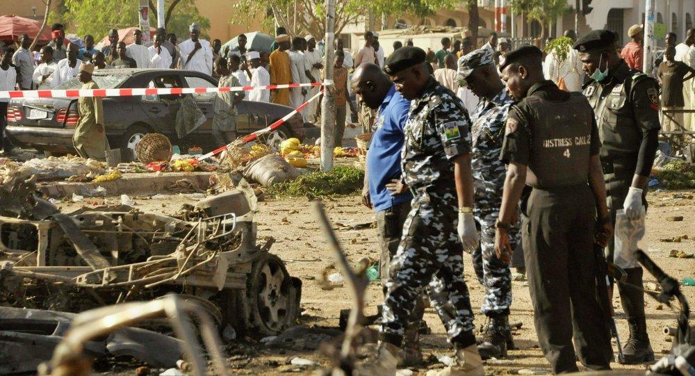 至少20人在尼日利亚连环恐怖袭击中丧生