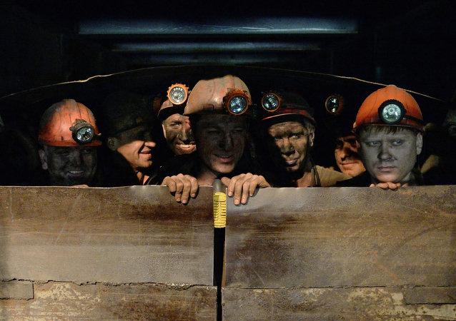 顿涅茨克的亚历山大•扎夏德科煤矿