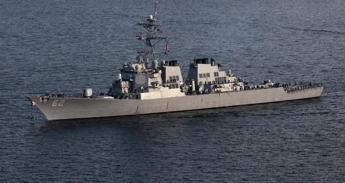 美国驱逐舰(资料图片)