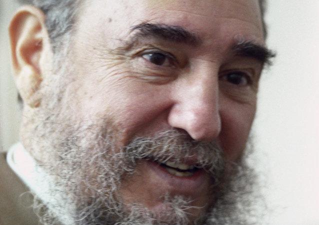 古巴革命领导人菲德尔•卡斯特罗