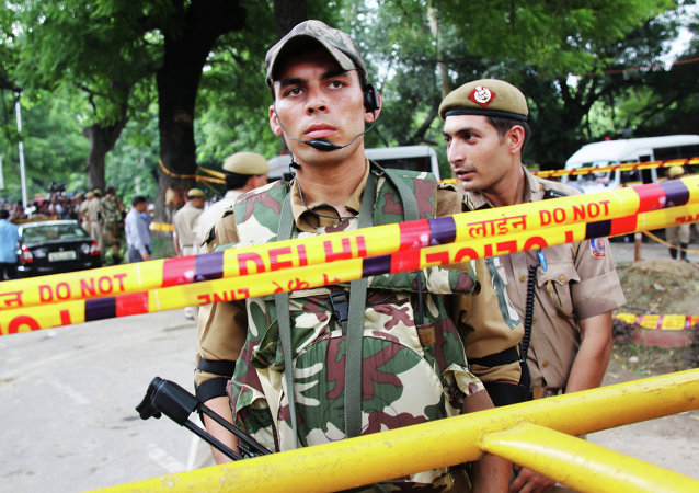 新德里因恐怖威胁加强安保措施