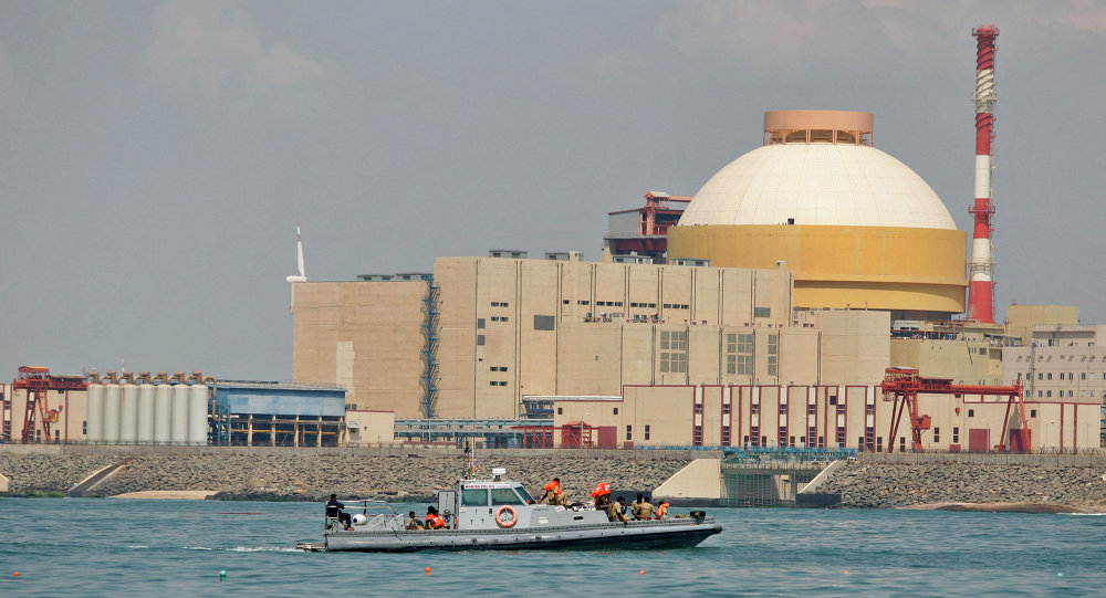 印度库丹库拉姆核电站1号机组开始加载核燃料