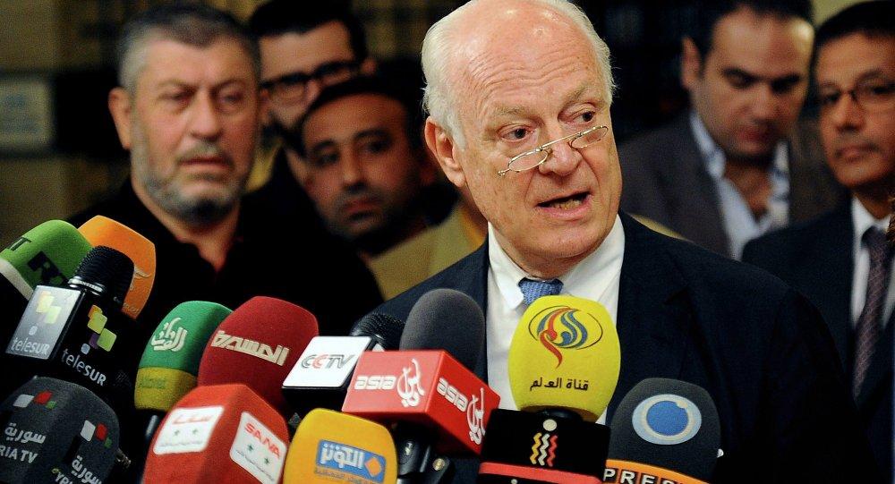 媒体:德米斯图拉欢迎在阿勒颇实施人道停火但不排除受干扰