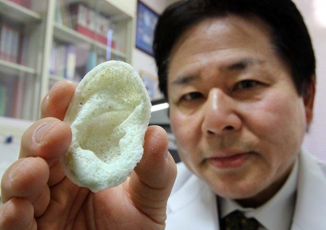 日本科学家希望在3D打印机上打印出皮肤