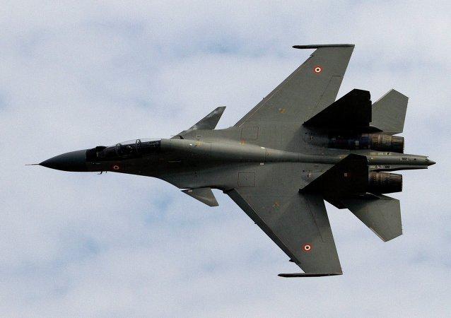 印国防部证实2名苏-30飞行员因坠机而死亡