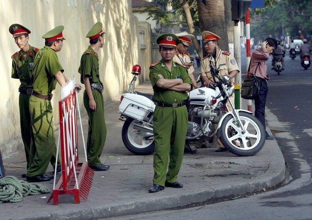 越南警方(资料图片)