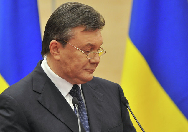 乌克兰前总统亚努克维奇