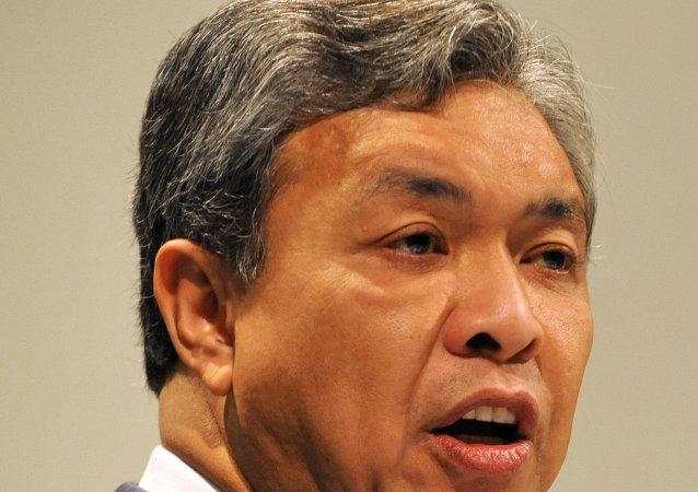 马来西亚内政部长艾哈迈德·哈米迪说