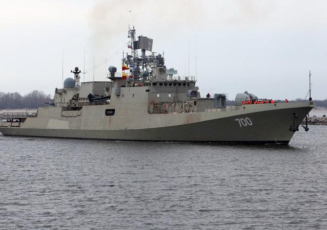 印度导弹护卫舰