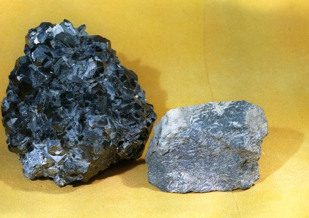 多金属的矿石