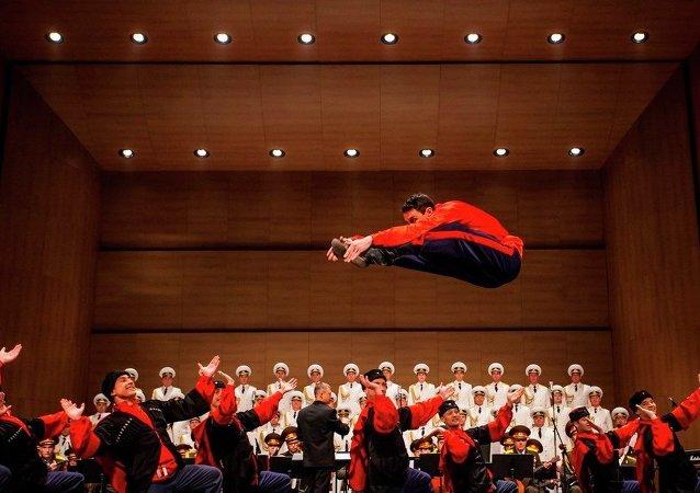 亚历山大红旗歌舞团