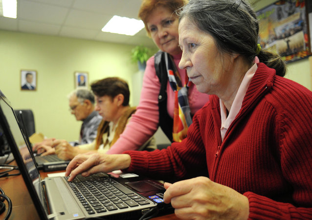 退休人员提供电脑培训