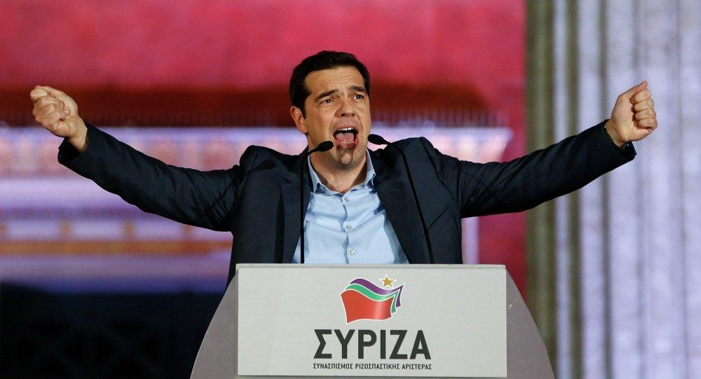 消息:希腊激进左翼联盟以2,5% - 3%的百分点的优势在选举中领先
