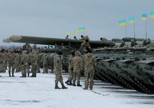 乌克兰问题联络小组就顿巴斯地区的重型武器后撤问题达成一致