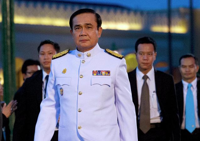 媒体:泰国总理承诺尽快解除军事状态