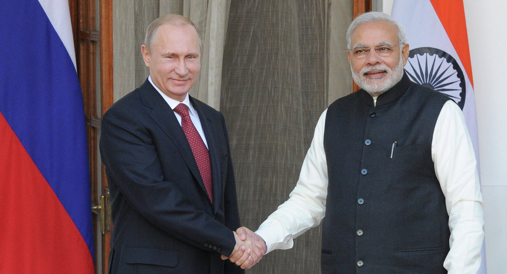 普京:同莫迪密切接触促使俄印贸易额显著增长