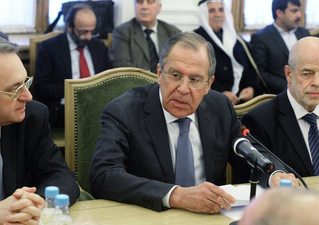 在莫斯科举行的叙利亚间磋商