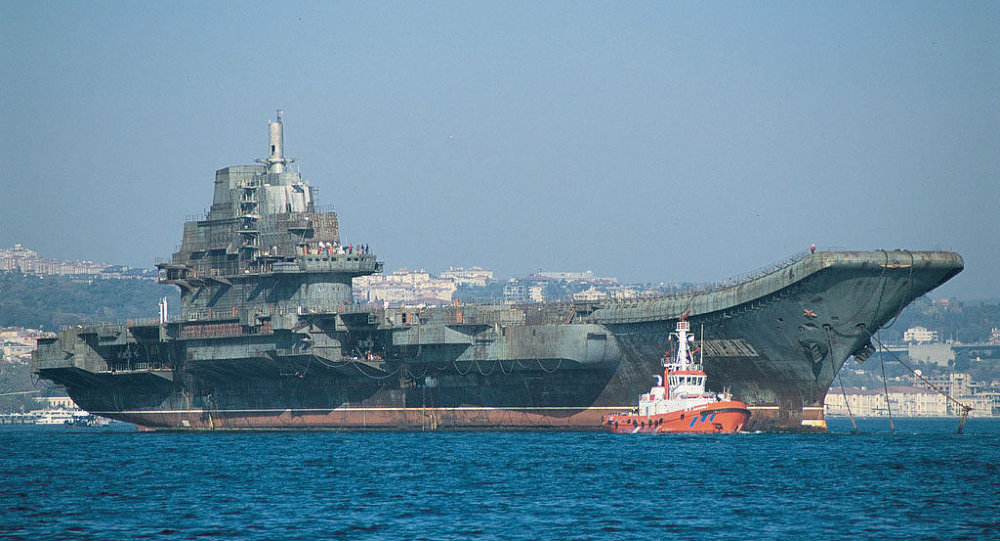 黑海造船厂(位于乌克兰的尼古拉耶夫市)前航母总设计师瓦列里·