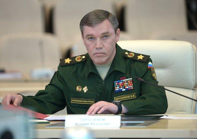 俄罗斯武装力量总参谋长瓦列里•格拉西莫夫
