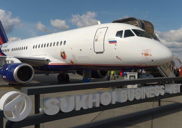 埃及向SSJ-100客机颁发型号合格证
