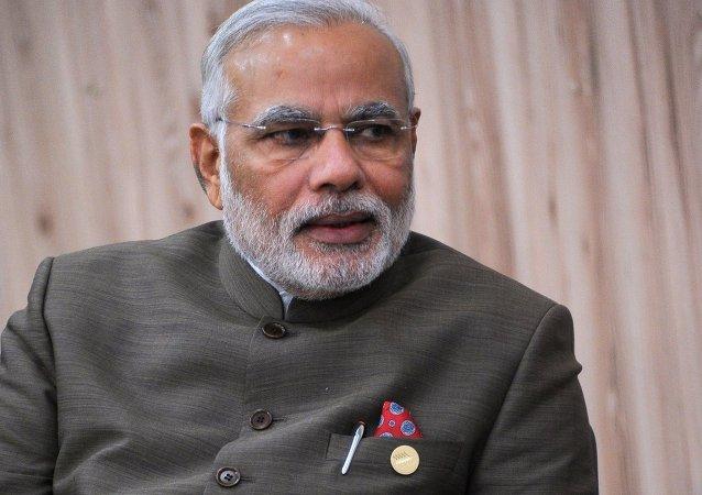 印度总理纳伦德拉•莫迪