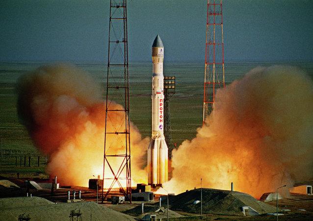 """""""质子""""号火箭事故后的首次发射定于8月"""